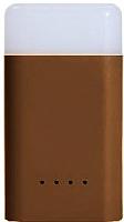 Портативное зарядное устройство Ergate Cube Quick Power Bank Light / GY020001 (коричневый) -