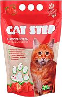 Наполнитель для туалета Cat Step Клубника / 20363006 (3.8л) -