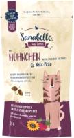 Лакомство для кошек Bosch Petfood Sanabelle Crispy pads. Beet & Chicken (55г) -