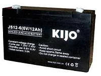 Батарея для ИБП Kijo 6V 12Ah / 6V12AH -