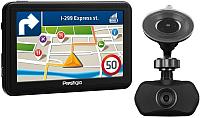 GPS навигатор Prestigio GeoVision 5060 / PGPS506000004GB00 (+ видеорегистратор PCDVRR140) -