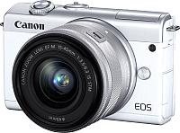 Беззеркальный фотоаппарат Canon EOS M200 EF-M IS STM Kit 15-45mm / 3700C010 (белый) -