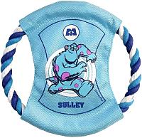 Игрушка для животных Triol Летающий диск на веревке с пищалкой Sulley WD1022 / 12141071 -
