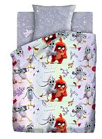 Комплект постельного белья Непоседа Angry Birds 2. Ред и Сильвер / 604535 -