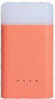 Портативное зарядное устройство Ergate Cube Quick Power Bank Light / GY020002 (красный) -