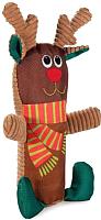 Игрушка для животных Triol Рождественский олень с бутылкой / 12141145 -