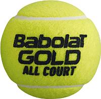 Набор теннисных мячей Babolat Gold All Court / 502085 -