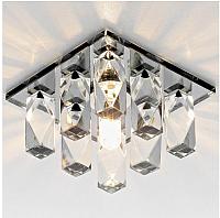 Точечный светильник Ambrella D1049 BK/CL (черный/прозрачный) -