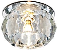 Точечный светильник Ambrella D7327 CL/CH (хром/прозрачный) -