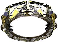 Точечный светильник Ambrella S40 G/W 4W (золото/матовый) -