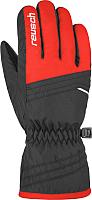 Перчатки лыжные Reusch Alan Junior / 4861115 302 (р-р 6.5, Fire Red/Black) -