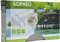 Ортопедическая подушка Даргез Борнео / 0739160 (30x50x8/11) -