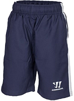 Шорты хоккейные Warrior Alpha Training Woven Short YTH / JS738129-NV-XLB (синий) -