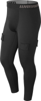 Бандаж-штаны хоккейные Warrior Compression Tight W/Cup / MP83792 (XL) -