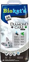 Наполнитель для туалета Biokat's Diamond Care Classic (8л) -