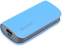 Портативное зарядное устройство Platinet 5200mAh / PMPB52LBL (голубой) -