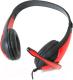 Наушники-гарнитура Freestyle FH4008R + Adapter 2-1 (красный) -