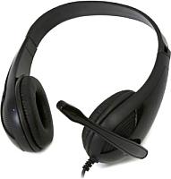 Наушники-гарнитура Freestyle FH4008B + Adapter 2-1 (черный) -