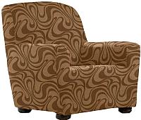 Чехол на кресло Belmarti Данубио (марон) -