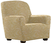 Чехол на кресло Belmarti Данубио (бежевый) -