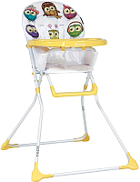 Стульчик для кормления Lorelli Bobo Yellow Cute Owls (10100271830) -