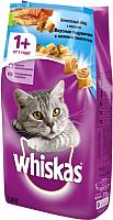 Корм для кошек Whiskas Вкусные подушечки с нежным паштетом с лососем (1.9кг) -
