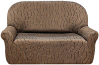Чехол на диван - 2 местный Belmarti Тоскана (марон) -