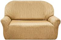 Чехол на диван - 2 местный Belmarti Тоскана (бежевый) -