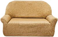 Чехол на диван - 2 местный Belmarti Бостон (бежевый) -