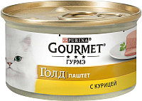 Корм для кошек Gourmet Gold с курицей (85г) -