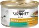 Корм для кошек Gourmet Gold с кроликом и печенью (85г) -