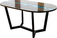 Обеденный стол Timb Эпоксидная смола/дуб -