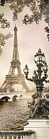 Фотообои листовые Твоя планета Люкс Парижский этюд (97x272) -
