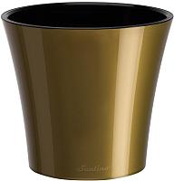 Кашпо Santino Arte / F1 AUR-NEG (золото/черный) -