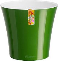 Кашпо Santino Arte / F2 VEA-ALB (зеленое золото/белый) -