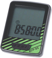 Велокомпьютер BBB DashBoard / BCP-05 (черный/зеленый) -