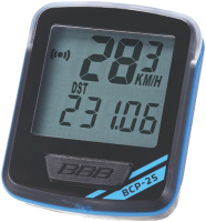 Велокомпьютер BBB NanoBoard / BCP-25 (черный/синий) -