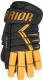 Перчатки хоккейные Warrior Alpha DX3 / DX3G9-BVG14 (черный/золото) -