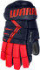 Перчатки хоккейные Warrior Alpha DX3 / DX3G9-NRD08 (синий/красный) -