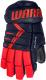 Перчатки хоккейные Warrior Alpha DX3 / DX3G9-NRD14 (синий/красный) -