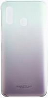 Чехол-накладка Samsung Gradation Cover для Galaxy A40 / EF-AA405CBEGRU (черный) -