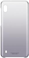 Чехол-накладка Samsung Gradation Cover для Galaxy A10 / EF-AA105CBEGRU (черный) -