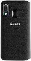 Чехол-книжка Samsung Wallet Cover для Galaxy A40 / EF-WA405PBEGRU (черный) -
