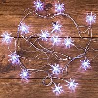 Светодиодная гирлянда Neon-Night Снежинки 303-036 (белый) -