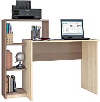 Компьютерный стол Тэкс Квартет-2 (ясень шимо/дуб сонома) -