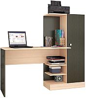 Компьютерный стол Тэкс Квартет-6 (венге/дуб молочный) -