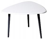 Журнальный столик Калифорния мебель Квинс (белый) -