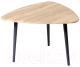 Журнальный столик Калифорния мебель Квинс (дуб сонома) -