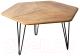 Журнальный столик Калифорния мебель Олдем (дуб американский) -