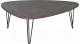 Журнальный столик Калифорния мебель Престон (серый бетон) -